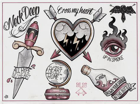 tattoo flash home decor these would be cool tattoos ink metal pinterest