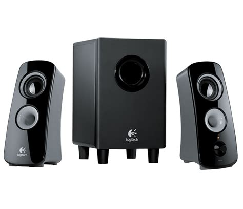 Speaker Laptop Logitech logitech z323 2 1 speaker system with subwoofer en us