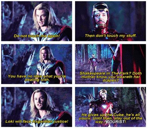 doth mother know you weareth her drapes the avengers movie quotes pinterest 5 years the