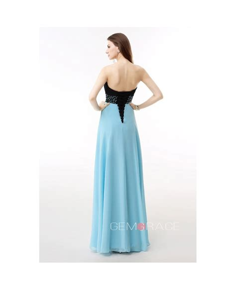 beaded empire waist dress sweetheart two tone beaded empire waist prom dress