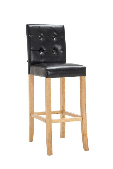 armchair bar stools bar stool burda wood leather breakfast kitchen barstools armchair chair pub new ebay