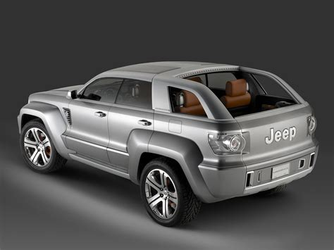 jeep concept vehicles 2007 jeep trailhawk concept pictures