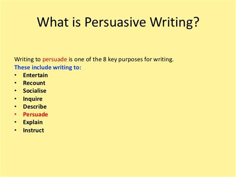 What Is A Essay by Persuasive