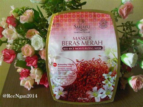 Masker Badan Sariayu reengan review sariayu masker beras merah