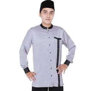 Tkd Baju Koko Busana Muslim Pria Cowok Lengan Panjang Warna Hijau Rd ini dia model baju muslim pria lengan panjang 2015
