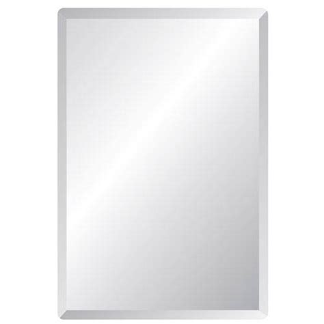 beveled edge bathroom mirror regency 20 x 30 rectangular beveled edge mirror spancraft