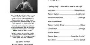 baptism program template lds baptism program template word www imgkid the
