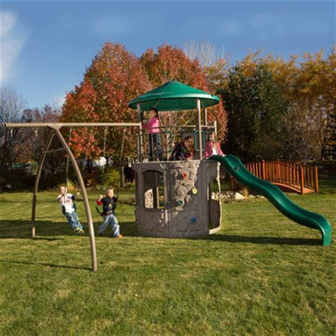 Lifetime Adventure Tower Swing Set Reviews Wayfair