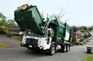 Garbage Truck by Residents Clash Trash Collection In St Paul