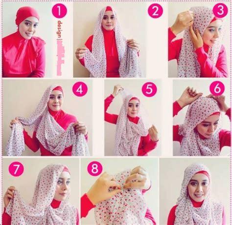 tutorial hijab pashmina chiffon polos tutorial hijab kreatif dengan chiffon motif muslimgalerifb