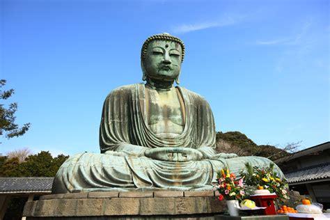 japanese buddhist the great buddha of kamakura tokyo japan wallpaper