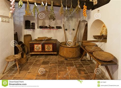 antique home interior wooden house interior stock image image of