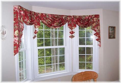 swag curtains for bay windows 506 best bay bow and corner window treatment artistry