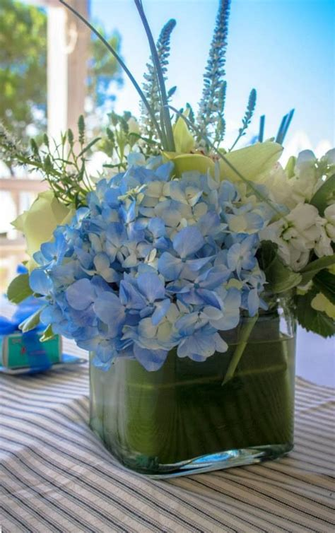 baby shower flower arrangements 25 best ideas about baby boy centerpieces on pinterest