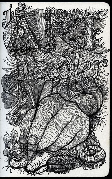 zentangle sketchbook project 31 best word typography images on