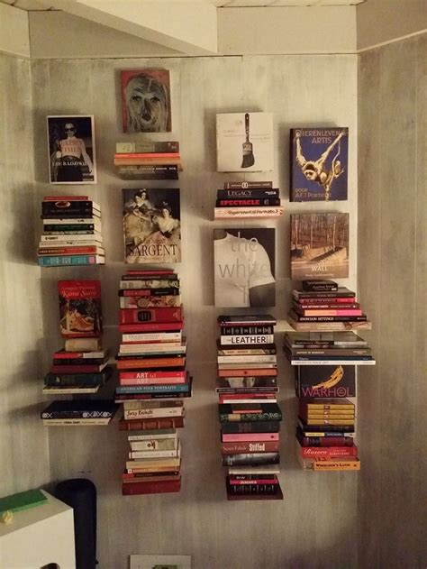 1000 ideas about floating bookshelves on