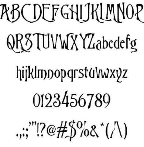 tattoo lettering fontspace trinigan fg font nightmare before christmas font fonts
