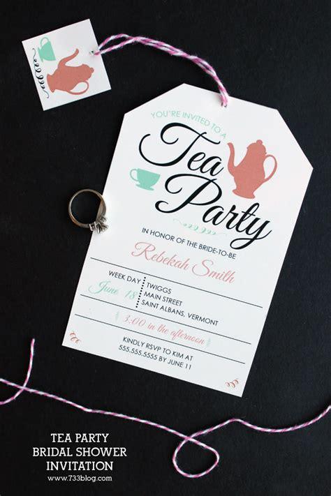 easy bridal shower for large groups tea bridal shower invitation inspiration made simple