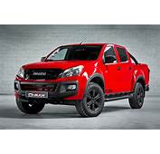 Wallpaper Isuzu D Max Fury Double Cab Pick Up Red