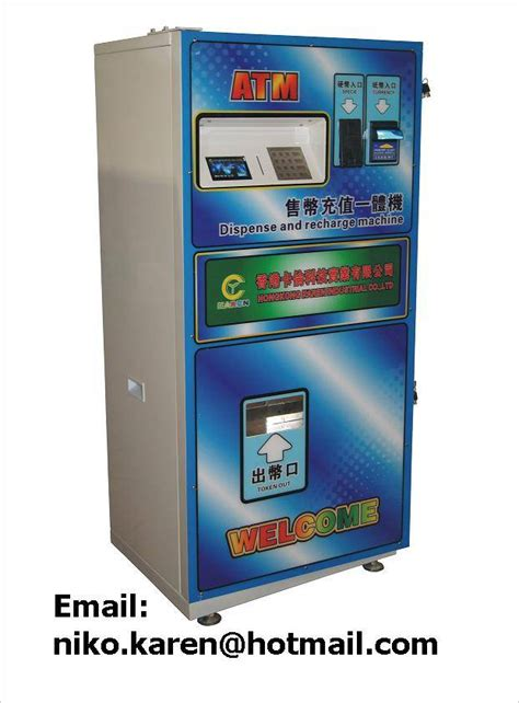Dispenser Niko self service token dispenser token coin dispense and