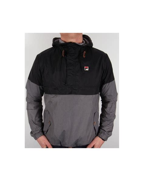 Jaket Jiper Black List Grey 1 fila vintage cario half zip jacket black grey marl hooded half zip coat