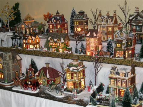 christmas decoration village house ideas christmas