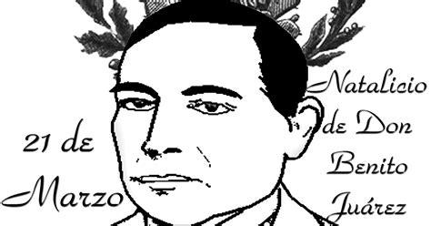imagenes de benito juarez faciles para dibujar pinto dibujos dibujo para colorear de benito ju 225 rez