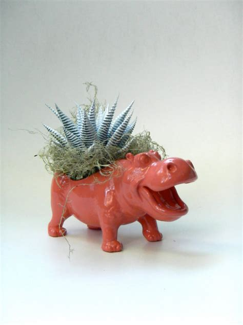 animal planters 22 whimsical planters inspired by exotic wildlife