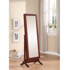 Length Mirror Jewelry Armoire Sliding Jewelry Armoire With Length Mirror Ebay