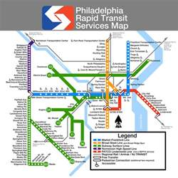 Subway Map Philadelphia by Submission Unofficial Map Philadelphia Septa