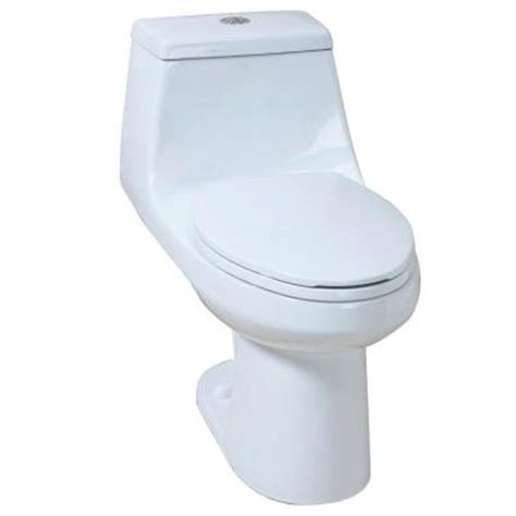 glacier bay 1 high efficiency dual flush elongated
