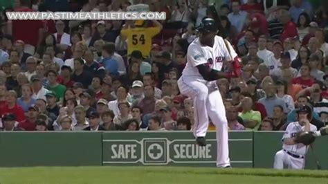 swing to html5 david ortiz slow motion home run baseball swing hitting