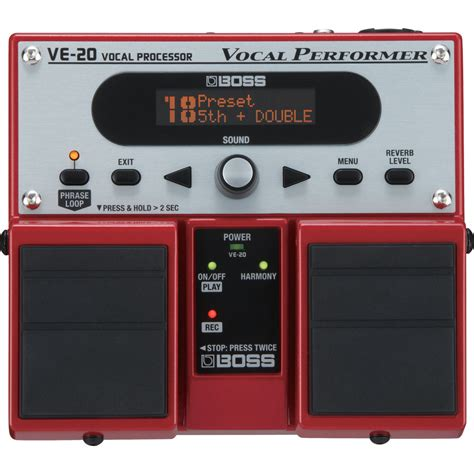 Harga Efek Gitar Harmonizer ve 20 vocal processor review dv magazine
