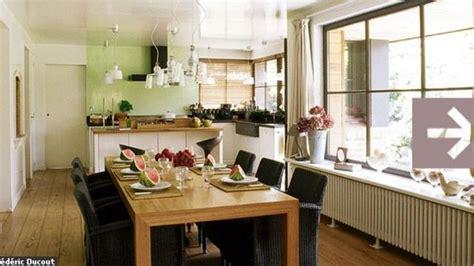 Salle à Manger Chaleureuse by Une Cuisine Salle 224 Manger Conviviale Et Chaleureuse