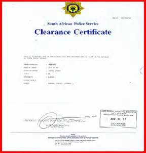 Clearance Credit Letter Clearance Certificate From Credit Reference Bureau