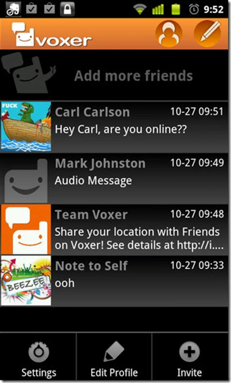 voxer app for android voxer brings its ptt based im client to the android market