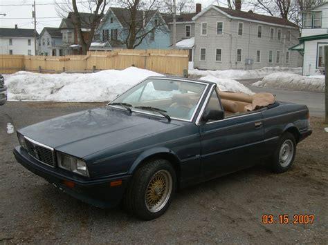 Maserati Cheap by Cheap Italian 1986 Maserati Biturbo