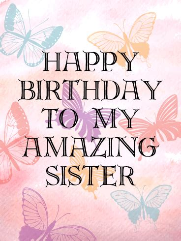 birthday cards for sister birthday amp greeting cards by
