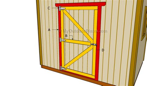 How To Build A Shed Door by How To Build A Shed Door With Plywood Affordable Sheds
