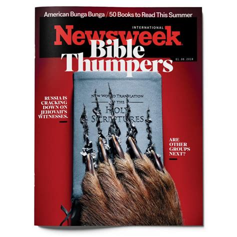Behind The Scenes Of Newsweek S Quot Bible Thumpers Quot Cover