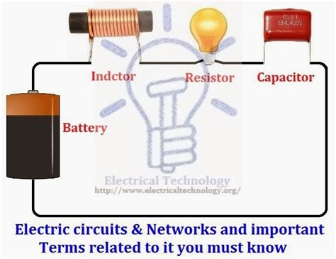 electric circuits networks and important terms related