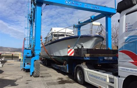 boat transport from spain to uk countries boat transport boat haulage by road across