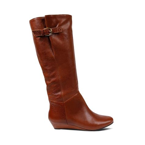 steve madden boots steve madden intyce in brown lyst