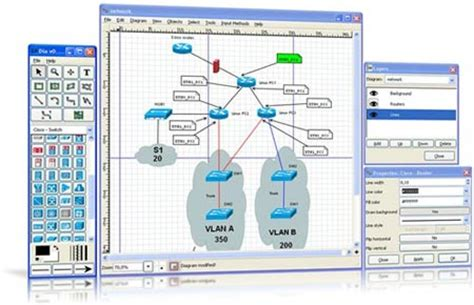 open source network diagram software top 10 network diagram topology mapping software pc