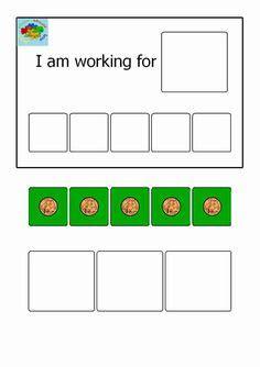 token reward system template token system printable images