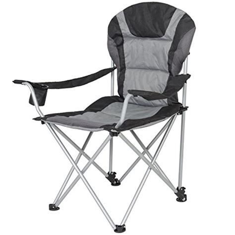 ozark trail deluxe folding cing arm chair