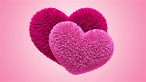love heart pink 1600x900 hd wallpaper love wallpapers pink fluffy hearts wallpaper