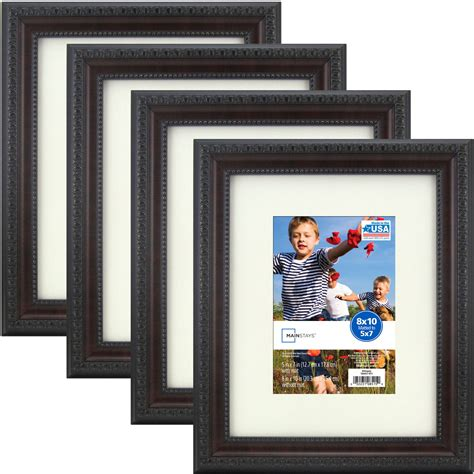 10 inches by 14 inches mat frame better homes and gardens 11x14 8x10 rustic wood picture