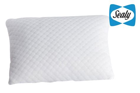 sealy memory foam bed pillow sealy memory foam standard bed pillow at gardner white