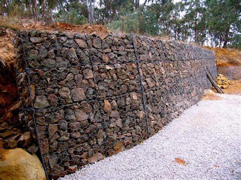 Rock Science Building Our Gabion Wall Gabion Garden Wall